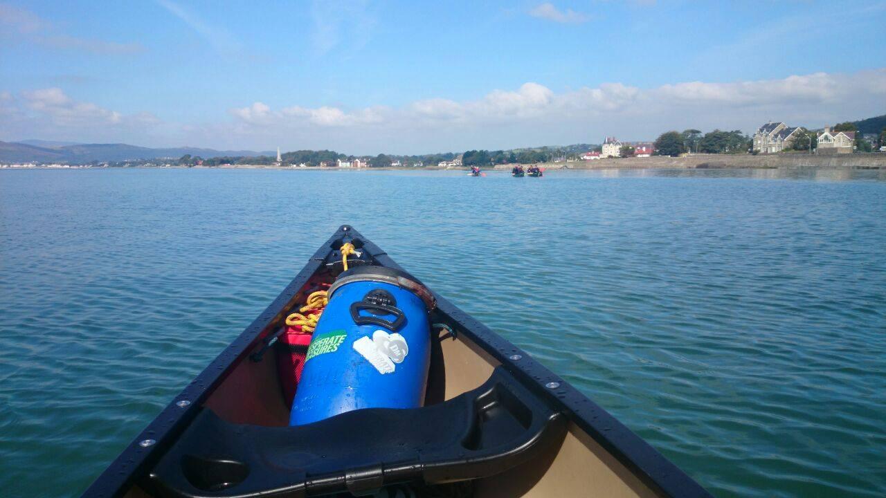 Canoeing-teambuilding