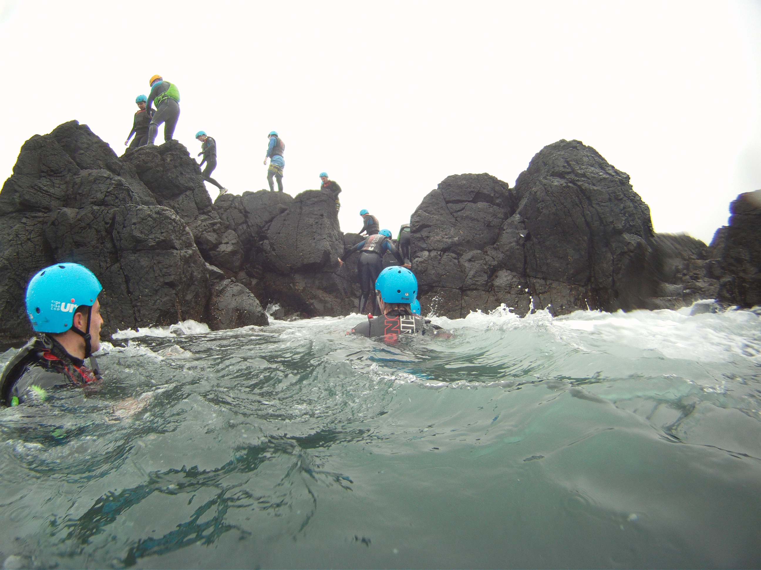 Children-coasteering