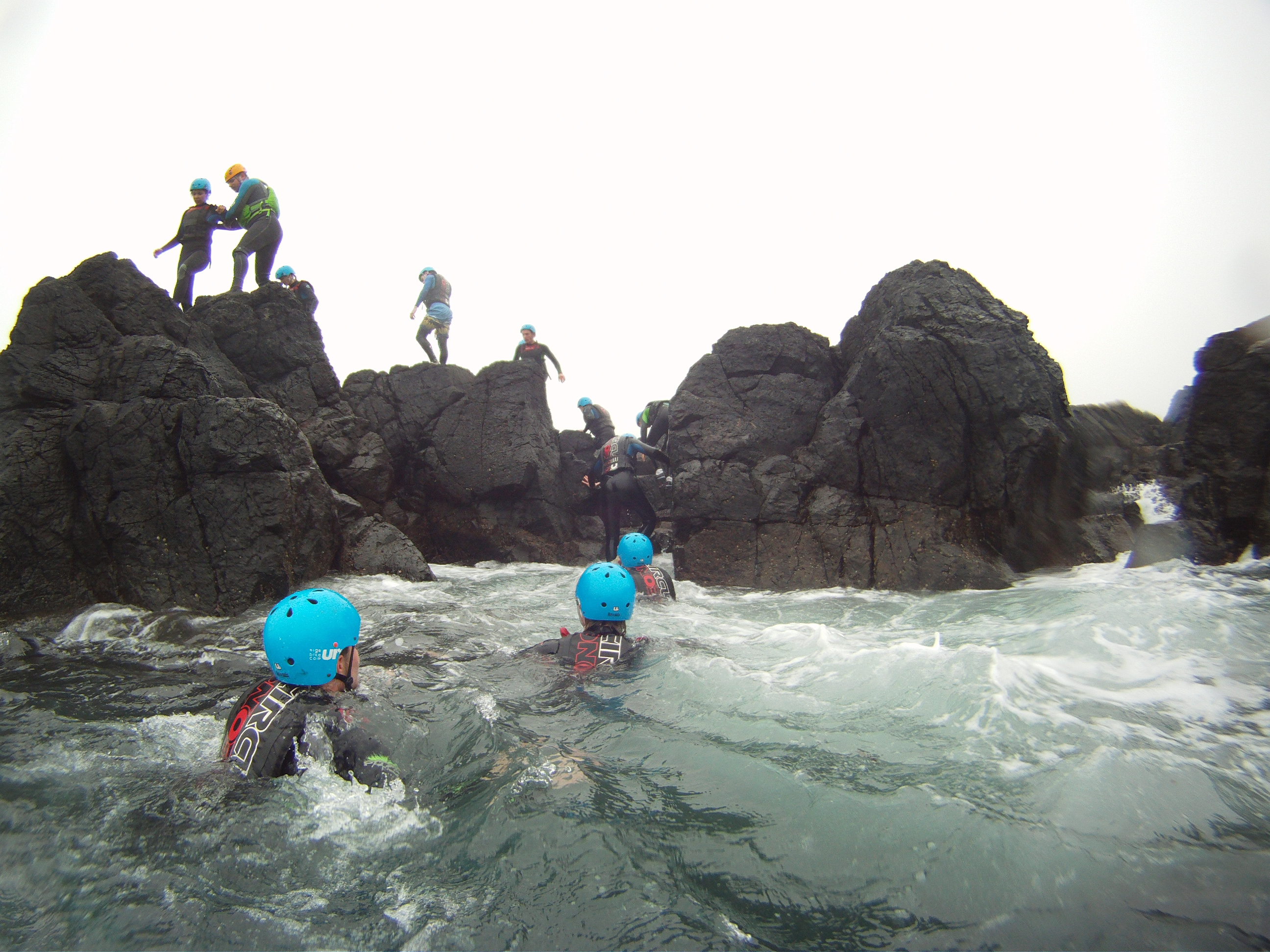 Coasteering-activities