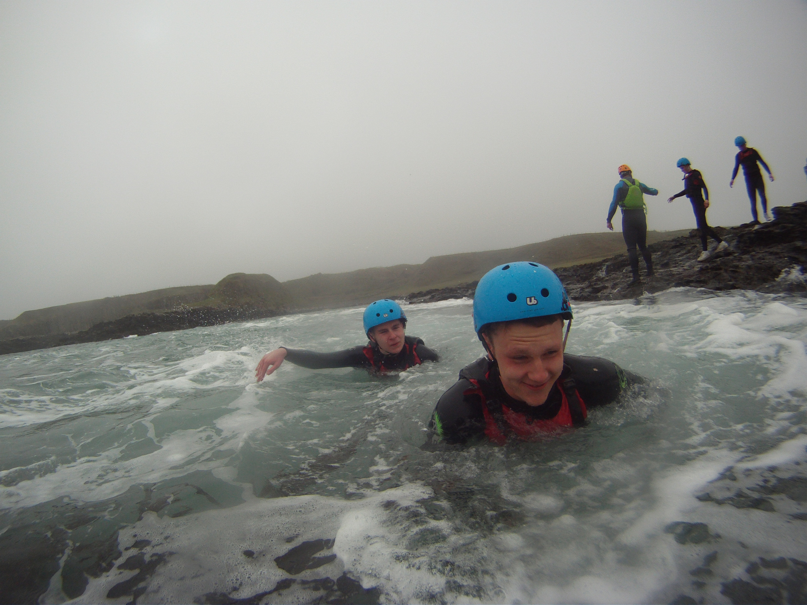 Coasteering-princess-trust-group