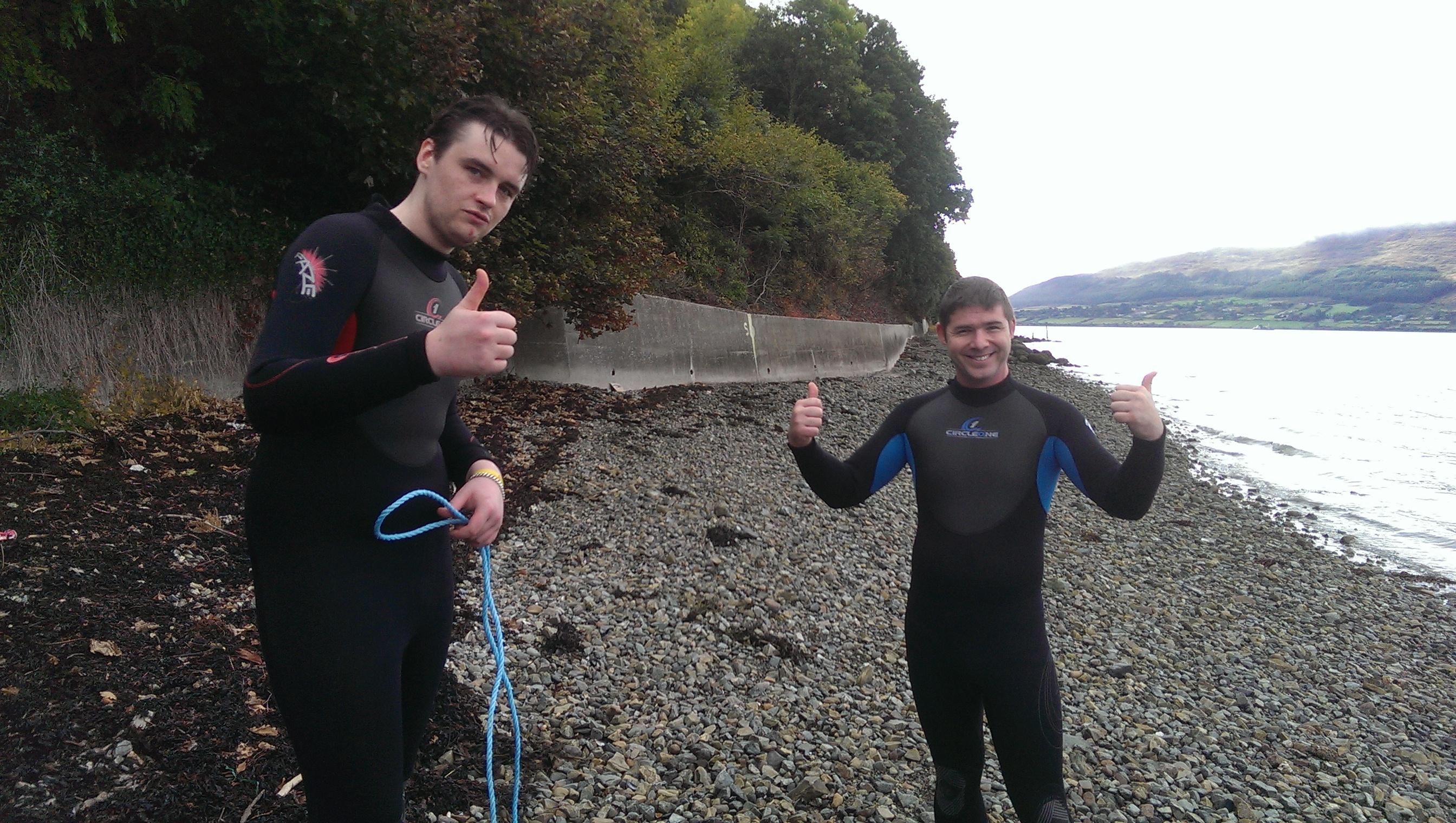 Friends-raft-building