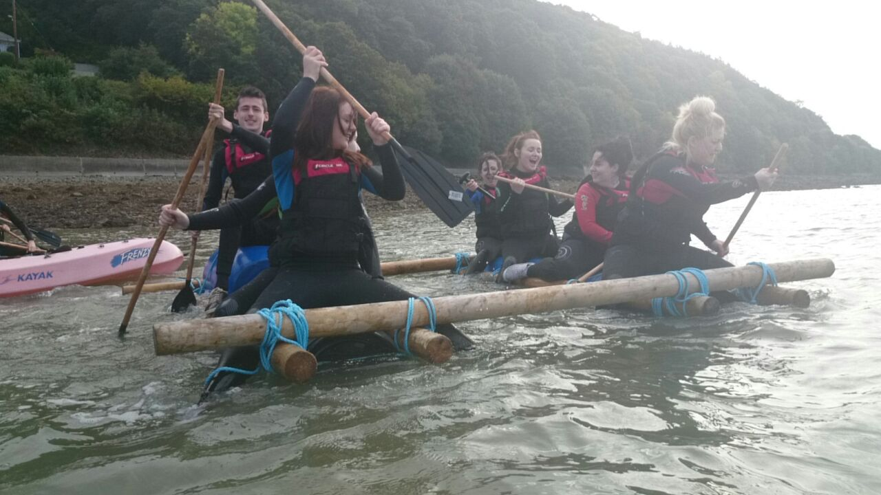 Group-raft-building