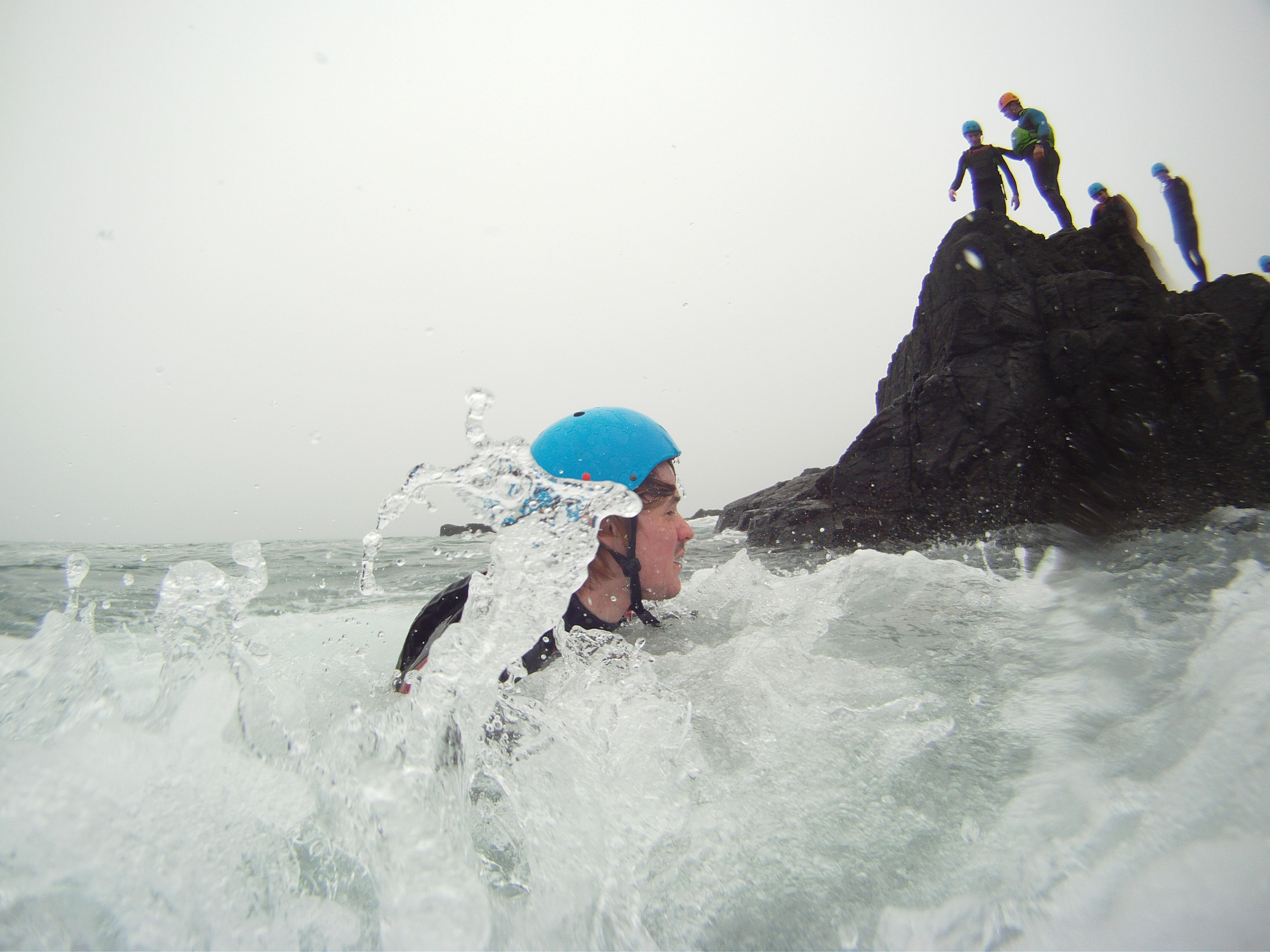 Stag-party-coasteering