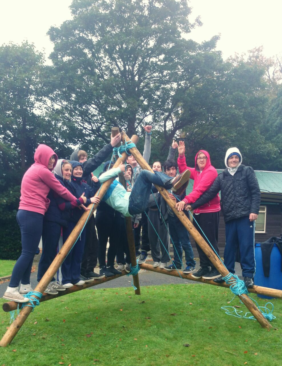 Team-building-Princess-Trust-group
